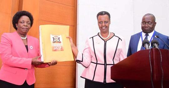 Ministers Janet Museveni, Rebecca Kadaga vetted via Zoom