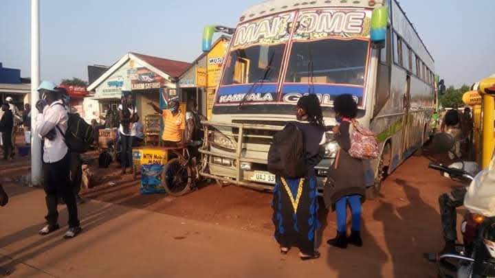 Police Impound Buses In Gulu For Defying SOPs