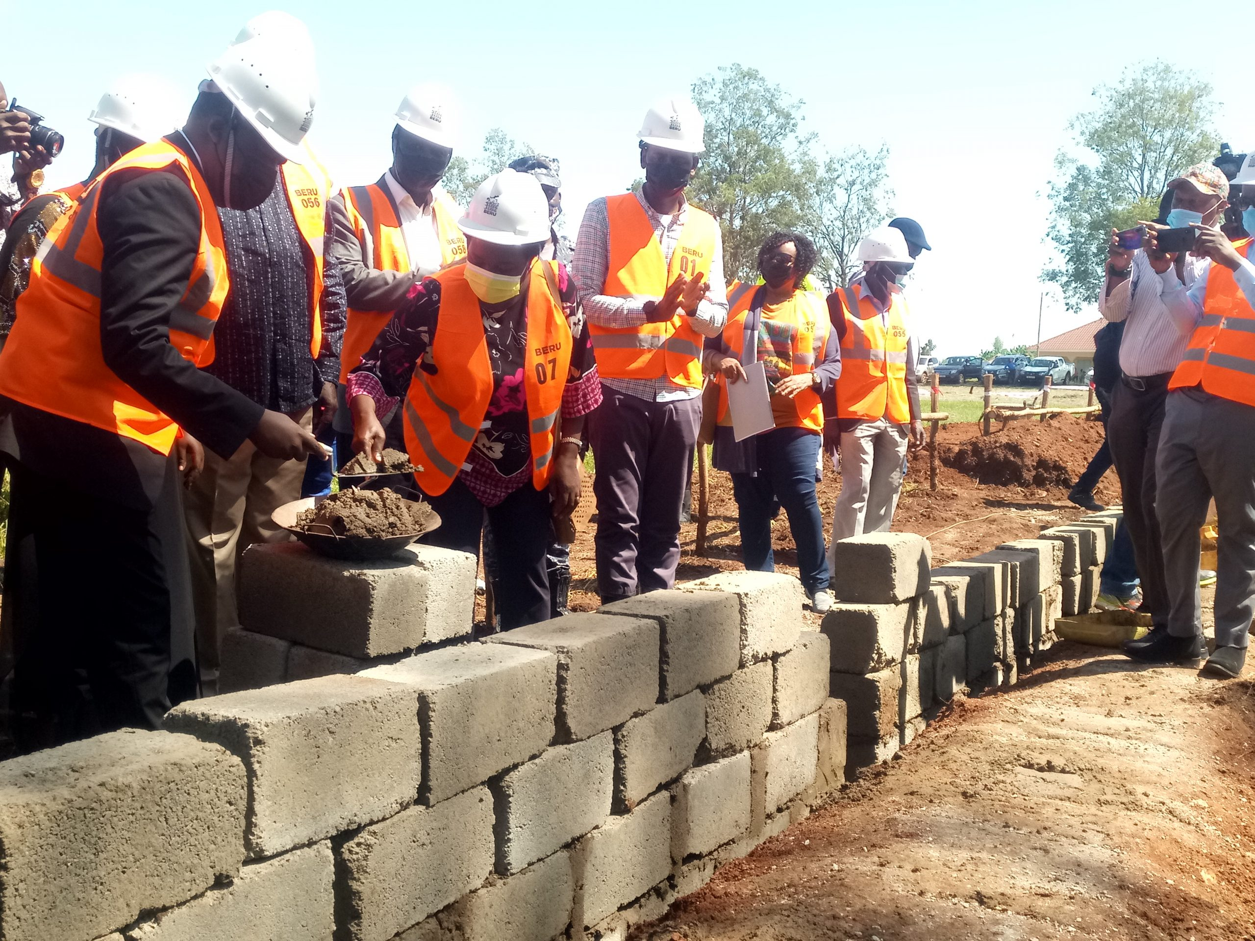 Minister Nankabirwa Launches Construction of Purongo Primary School
